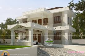 2300 Sq Ft House Plans Small Double Floor Home Design In Sq Feet Kerala Square Foot House