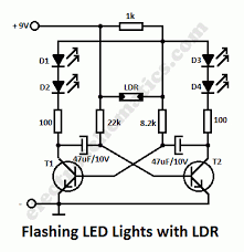 charming flashing brake light for motorcycles circuit in addition