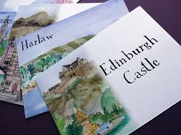 wedding invitations edinburgh edinburgh illustrated wedding invitations and stationery