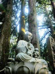 spiritual statues trusting is relax and let nature inspire me to find a way and take