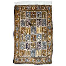 Fine Persian Rugs Fine Tree Of Life Design Vintage Silk Souf Qum Persian Rug For