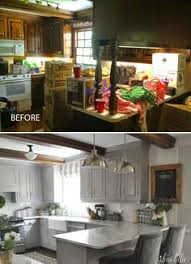 remodeled kitchen ideas before after 3 unique kitchen remodeling projects unique