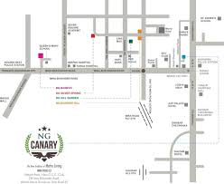 image of location map of rna builders ng ng canary mira road east