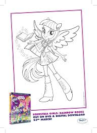 my little pony equestria girls colouring pages in the playroom