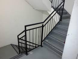 Galvanised Handrail Fire Stair Balustrade Elite Balustrades