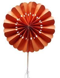 paper fans bulk 8 orange pinwheel paper folding fan for weddings 10 pack