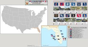 Map Pensacola Florida by Minor League Baseball The Florida State League Class A Advanced