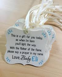baby shower thank you gift favor onesie tag onepiece