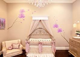 green and pink baby room idea for chic look designing and