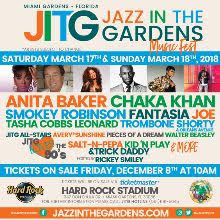 jazz in the gardens 2018 tickets in miami gardens at hard rock