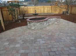 Patio Paver Designs Patios Slate And Pavers Precision Landscape Services Portland