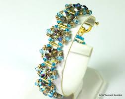 beading bracelet crystal images 2 gorgeous raw beaded crystal bracelet tutorials the beading jpg