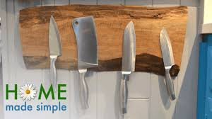 the elegant floating knife holder every kitchen needs home made