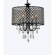 Modern Round Crystal Chandelier Antique Bronze 4 Light Round Crystal Chandelier Ideas For Home