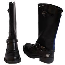 s boots in size 12 skechers truffles girlz rocker toddler black knee high boots