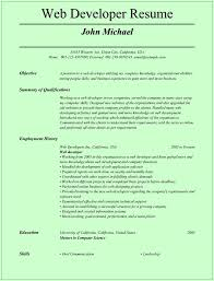Ui Developer Resume Doc Web Developer Resume Template For Microsoft Word Doc Saneme