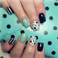 155 best nail art images on pinterest make up polka dot nails