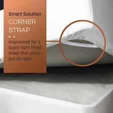 amazon com premium queen sheets set white hotel luxury 4 piece