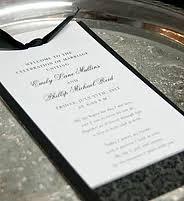 Elegant Wedding Program Programs U0026 More By Invitations By Daniels