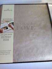Bridal Shower Photo Album Hallmark Wedding Photo Album Ebay