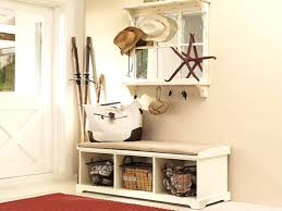 Hallway Bench Storage by White Entryway Bench With Storageentryway Storage Benches Baskets