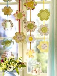Easter Decoration Ideas Paper paper mobiles paper mobile construction paper and yarns