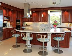 oval kitchen island with seating 81 custom kitchen island ideas beautiful designs designing idea