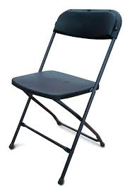 cool folding chairs black folding plastic chairs black image 1