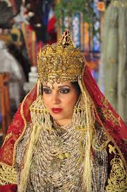 the traditional costume of tlemcen is an algerian dress composed