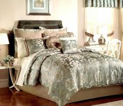 Amazon King Comforter Sets Comforter Set Teal And Queen Luxury Embroidered Velvet Gold Hue