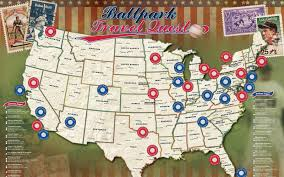 Baseball Map Mapyourtravels Com Home Of The Original Travel Map Series