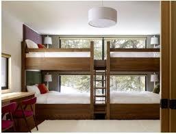 chambre lit superposé lit superposé chambre amis idée lits superposés