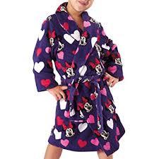 robe de chambre minnie peignoir polaire minnie amazon fr vêtements et accessoires