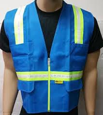 Light Blue Vest Ladies U0027 Safety Vests U2013 Safety Depot Online Store