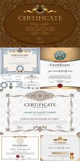 certificate templates vector 20 eps free download
