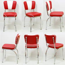 Retro Red Kitchen Chairs - retro formica table dinette sets retro furniture retroplanet com
