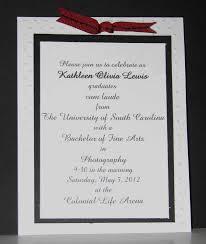 college graduation announcements templates graduation invitation sles template new graduate invites
