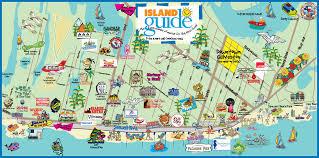 galveston island map galveston map island guide magazine