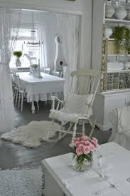 white shabby chic dining table and chairs dining table set idea