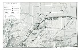 Santa Fe New Mexico Map by Corridor Management Plan Location And Maps Of The Santa Fe Trail