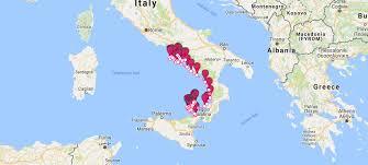 Map Of Amalfi Coast Amalfi Coast Yacht Charter Itinerary Sailing Itineraries In The