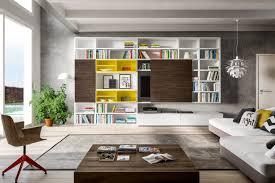 librerie muro libreria con porta tv a scomparsa 598 napol arredamenti