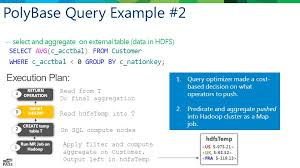 polybase query hadoop with ease sahaj saini sql server microsoft