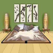chambre japonais aménager une chambre japonaise traditionnelle ooreka