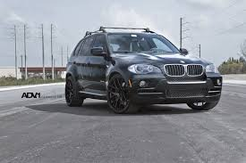 matte bmw x5 clean bmw x5 with a roof rack and black adv1 rims u2014 carid com gallery