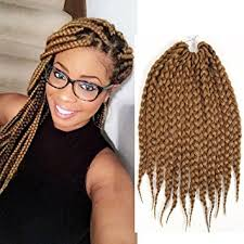 what kind hair use boxbraids amazon com box braids crochet hair 12 inch synthetic hair crochet
