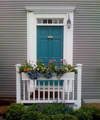 front door colors for gray house medium gray house with dark turquoise door i kind of love this