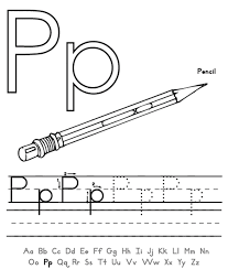 words from p words of p free alphabet coloring pages puddle