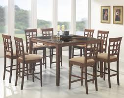 cappuccino dining room furniture collection coaster mix u0026 match rectangle leg dining table coaster fine