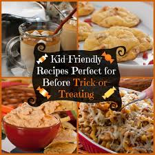 20 kid friendly recipes perfect for before trick or treating